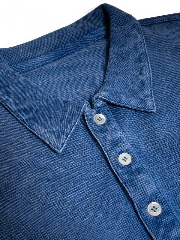 Polo uomo trattato frost simil jeans